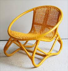 fauteuil enfant rotin